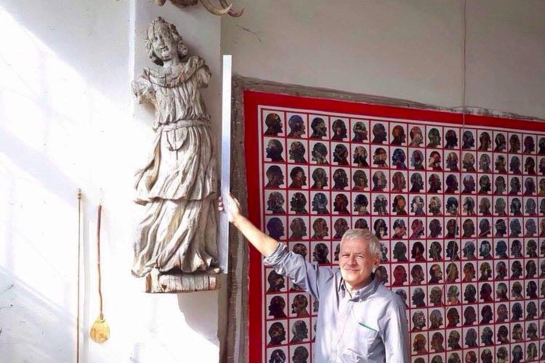 В Узбекистане обнаружили старинную скульптуру из белорусского костела