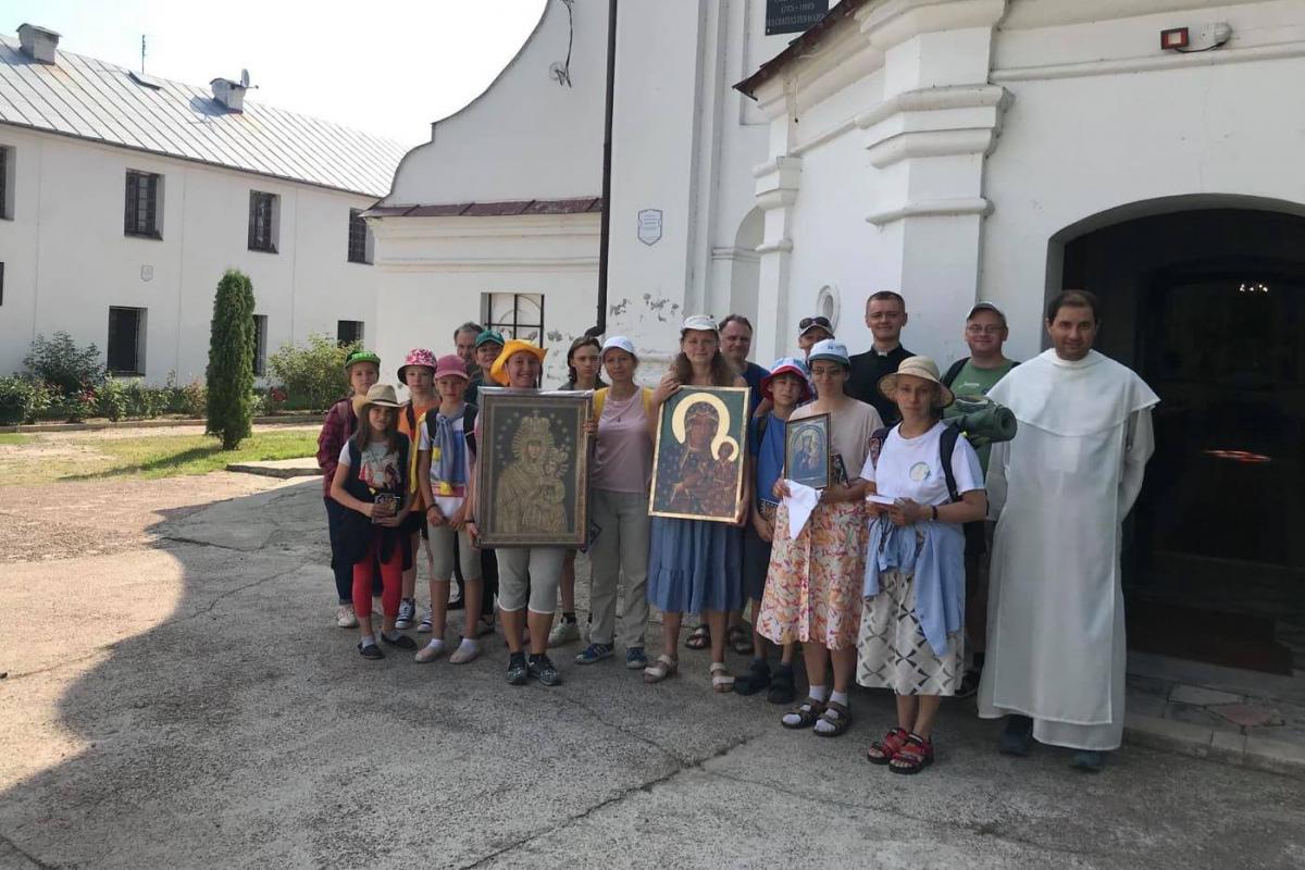 Стартовало паломничество из Мозыря в Гомель - фото