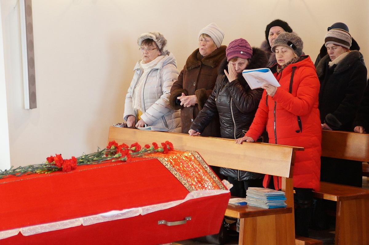 В Гомеле проводили в вечность звонаря костела [фото]