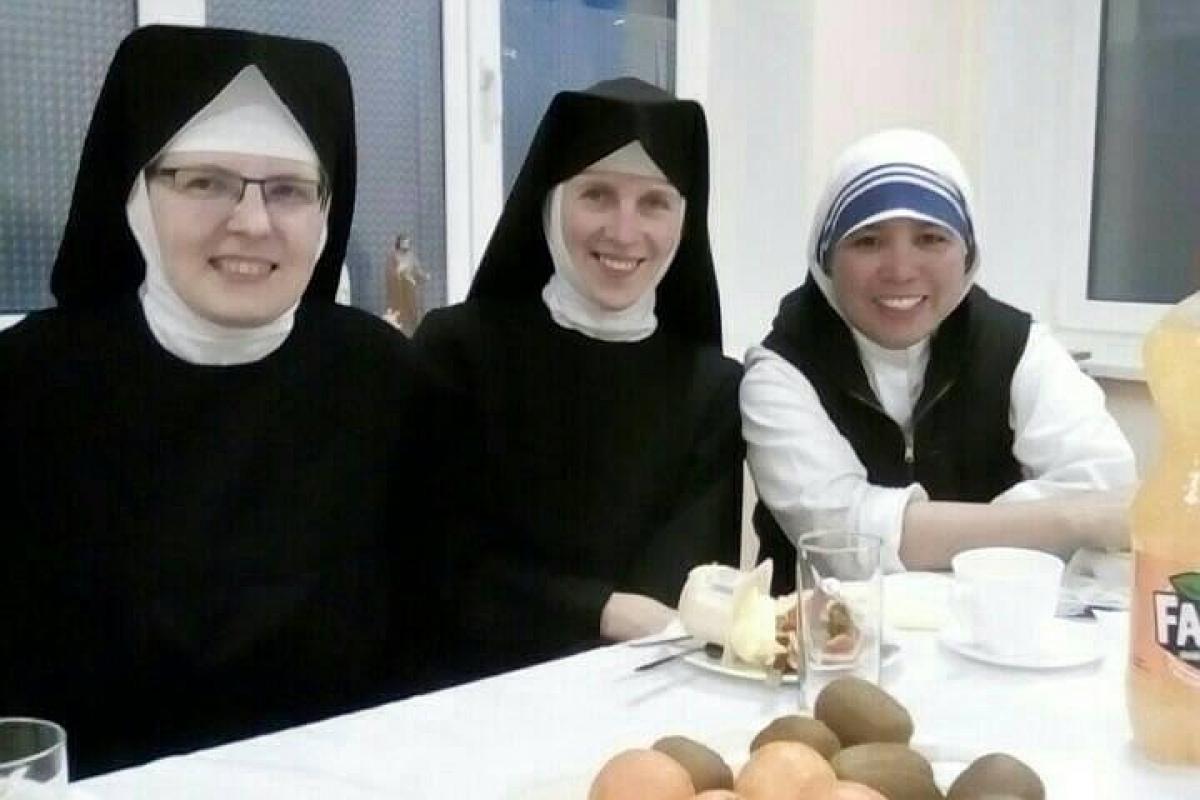 Гомельские монахини отметили «профессиональный праздник» - фотофакт