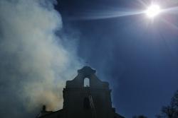 Пожар в костеле в Будславе: что случилось, какие планы, как помочь [фото, видео]
