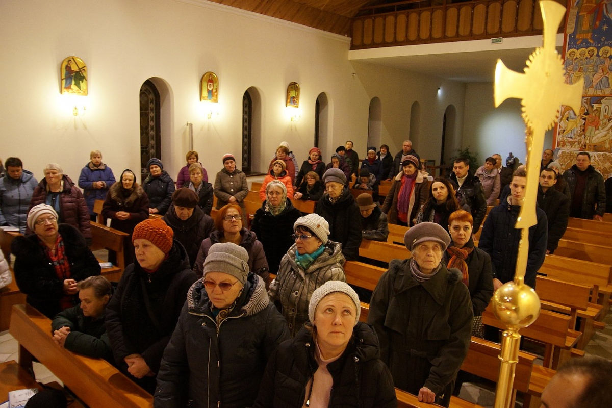 Крестный путь «за женщин» провели в Гомеле 8 марта
