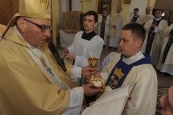 У Пінскай дыяцэзіі - новы, незвычайны святар: ВІДЭА пасвячэння