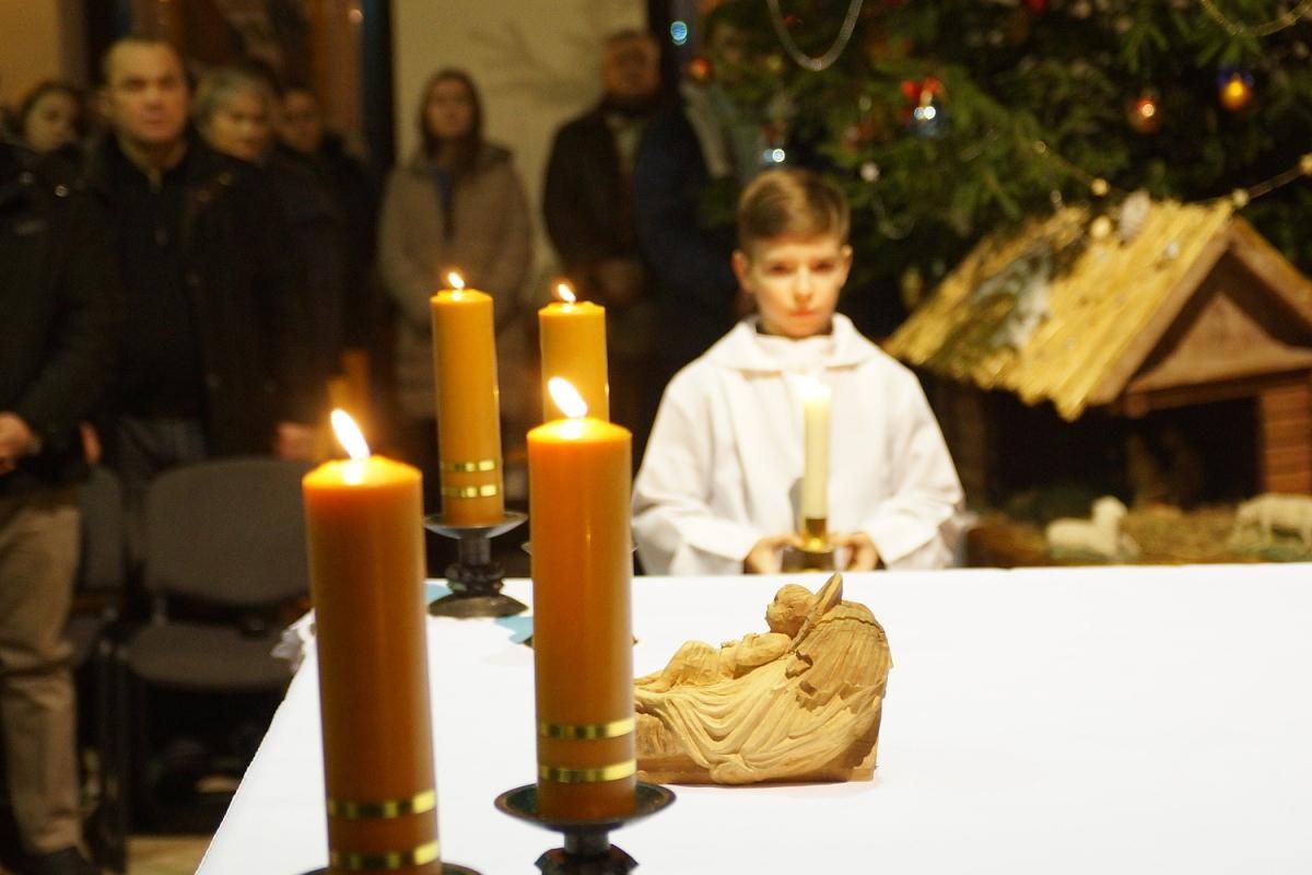 «Жизнь без Бога не имеет смысла». Католики встретили Рождество [фото]