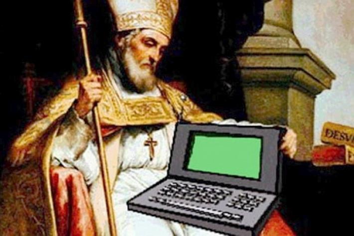 Картинки по запросу в день преставления святого Исидора Севильского — отмечается День Интернета