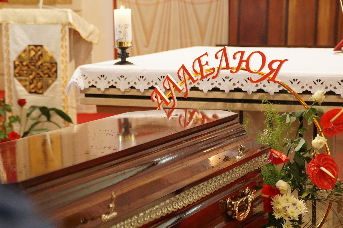 Смерць заўсёды побач. У Гомелі развіталіся з «самым вясёлым католікам»