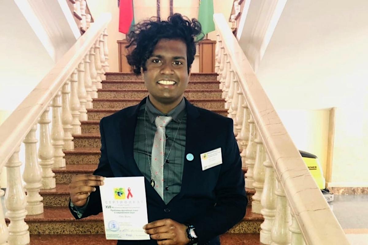 «Больше всего повлияла Церковь». Студент из Шри-Ланки рассказал, как он «стал белорусом»